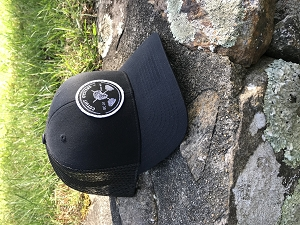 New Black Trucker hat