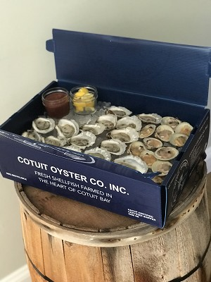 Mini Raw Bar To Go (combo 24 oysters/ 12 littlenecks) PICK UP FRIDAY 5/29 2-3 PM ONLY!!!